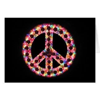 5-color peace card