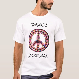 5-color peace for all tee