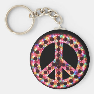 5-color peace keychain