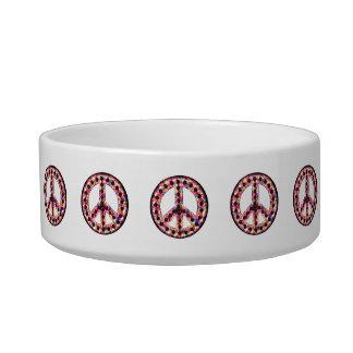 5-Color Peace Pet Bowl