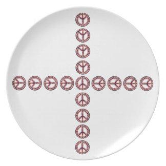 5-Color Peace Plate