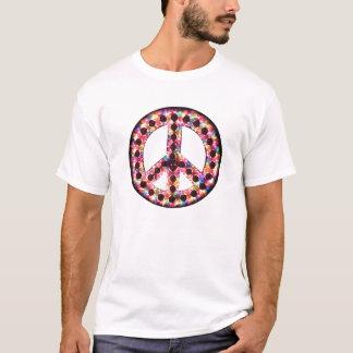 5-color peace tee
