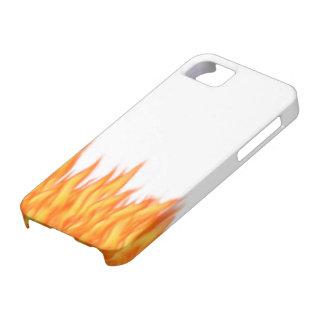 5 cubiertas iPhone funda Case fuego Funda Para iPhone 5 Barely There