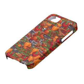 5 cubiertas iPhone funda Case gemüse de colores iPhone 5 Case-Mate Protectores