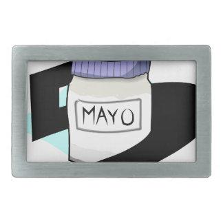 5 de Mayo Hebillas Cinturon Rectangulares