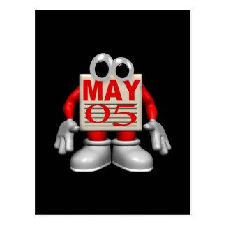 5 de mayo postal