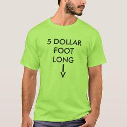 5 Dollar T Shirts