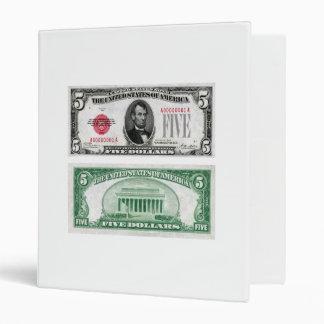 $5 Dollar Legal Tender Banknote Series 1928 Binder