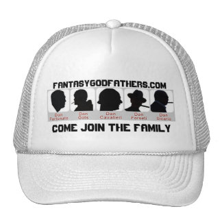 5-dons, FantasyGodfathers.com, Come Join the Fa... Trucker Hat