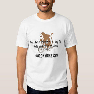 5, Don't be a Monkey for Big Oil..... - Customized Tee Shirt