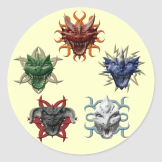 5 dragones etiqueta