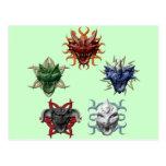 5 dragones postal
