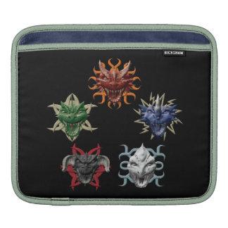5 Dragons iPad Sleeves