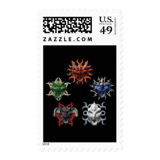 5 Dragons Stamp
