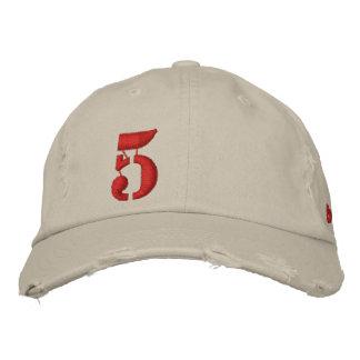 5 EMBROIDERED BASEBALL CAP