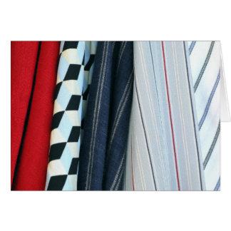 5 Fabrics With Geometric Patterns Card