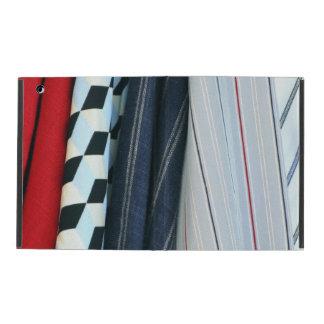 5 Fabrics With Geometric Patterns iPad Cases