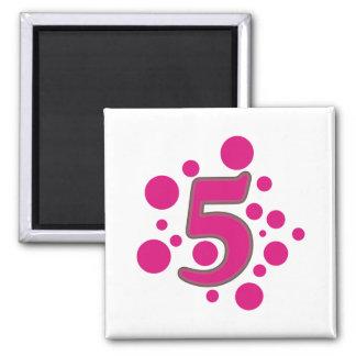 5-Five Imán Cuadrado