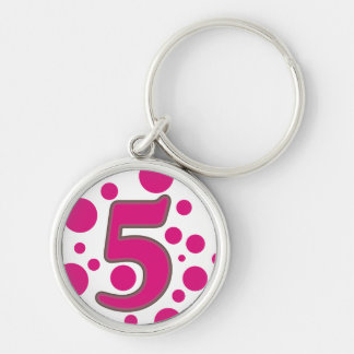 5-Five Keychain