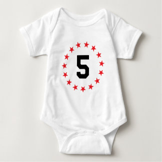 5/five mameluco de bebé