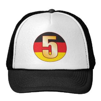 5 GERMANY Gold Trucker Hat