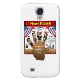 5 GOP Finger Puppets Samsung S4 Case