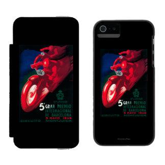 5 Gran Premio Internat'l Motorcycle Poster Wallet Case For iPhone SE/5/5s