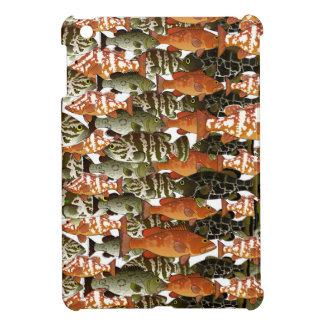 5 Groupers Pattern Case For The iPad Mini