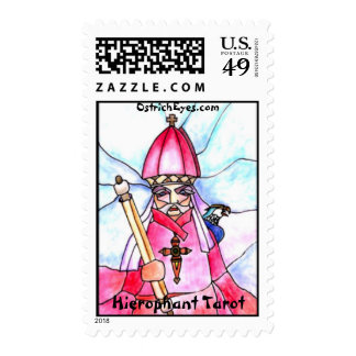 5 - Hierophant Postage Stamps