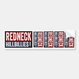 5 in 1  Redneck Hillbillies dot com bumper sticker