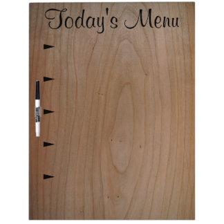 5 item Today's Menu, Large Dry Erase Board w/Pen