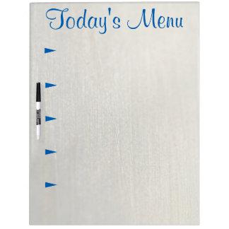 5 item Today's Menu Large Dry Erase Board w/ Pen