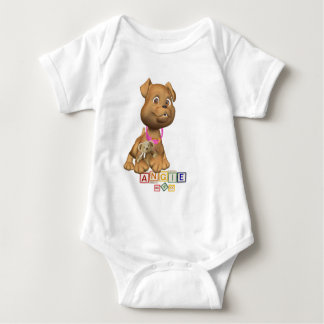 5 Letter Name Customize It Precious Puppy Version Shirt