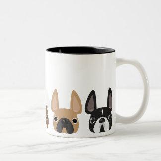 5 Little Frenchies Mug