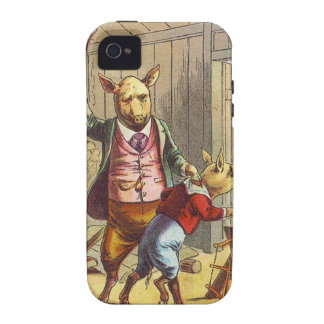 5 Little Pigs: The Pig That Had None iPhone 4 Covers