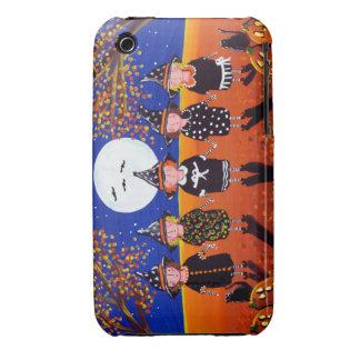 5 Little Witch Girls Halloween iPhone Case