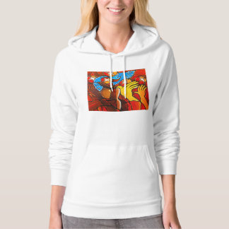 5 Loaves 2 Fishes Women American Apparel's Fleece Hoodie