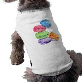 5 Macarons Dog T-shirt