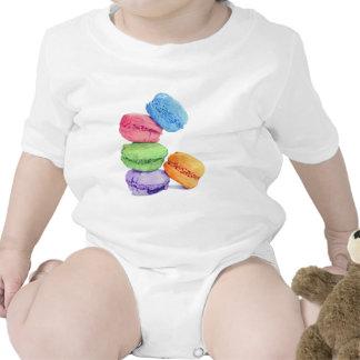 5 Macarons Infant Tees