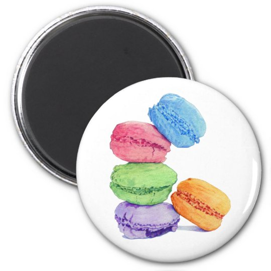 5 Macarons Magnet