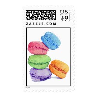 5 Macarons Stamp
