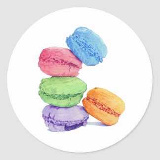 5 Macarons Sticker