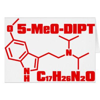 5-MeO-DiPT Tarjeta