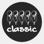5 Mics Classic Stickers