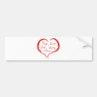 5-names-in-heart-2100-red.png bumper sticker
