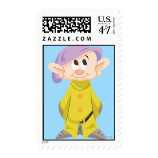 5 narcotizados sello postal