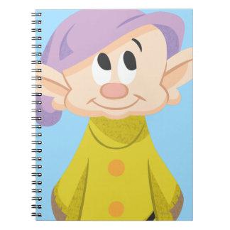 5 narcotizados spiral notebooks