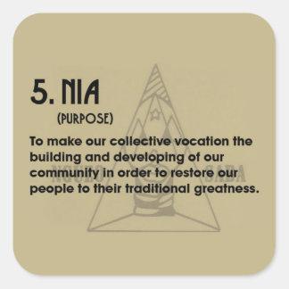 5. NIA Kwanzaa Holiday Stickers