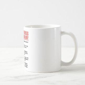 5 normas de oro de genealogía tazas de café