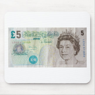 £5 note - horizontal mouse pad
